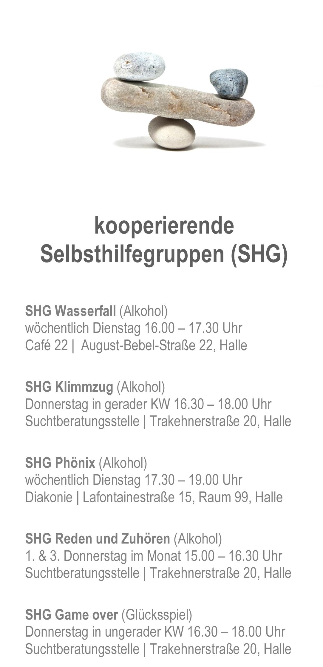 Selbsthilfegruppe-Flyer zum Download AWO Halle-Merseburg